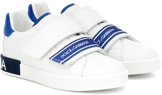 Dolce & Gabbana Kids Leather sneakers