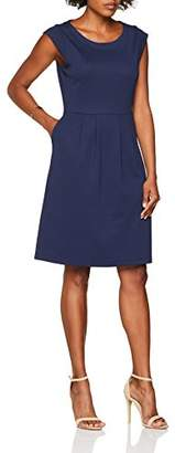 S'Oliver Women's .805.82.8122 Dress, (Dark Steel Blue 5835)