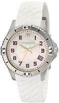 Wenger Women's 0121.103 Analog Display Swiss Quartz White Watch