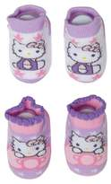 Hello Kitty Baby Girls' Socks - Purple & Pink 6-12M