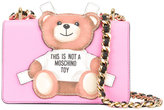 Moschino toy bear paper cut-out crossbody bag