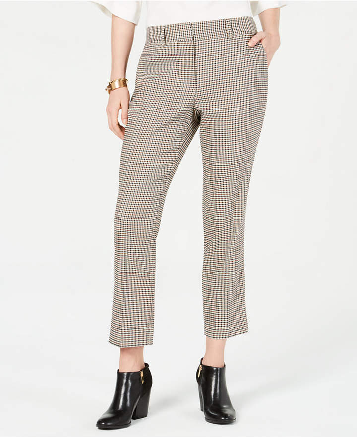 Tommy Hilfiger (トミー ヒルフィガー) - Tommy Hilfiger Check-Print Ankle Pants
