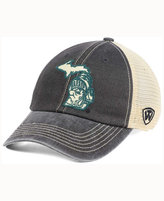 Top of the World Michigan State Spartans Heritage Collection Mesh Trucker Cap
