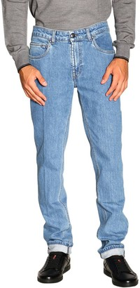 Fay Jeans Slim Stretch Light Used Jeans With Bull Pockets