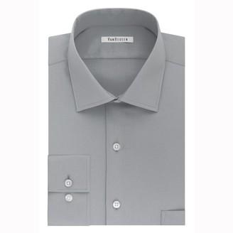 Van Heusen Mens Flex Collar Fitted Stretch Dress Shirt