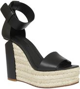 Alexander Wang Woven Wedge Sandals