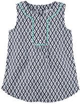 Carter's Printed Poplin Tunic