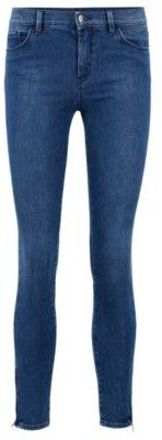 BOSS Skinny-fit jeans in comfort-stretch denim