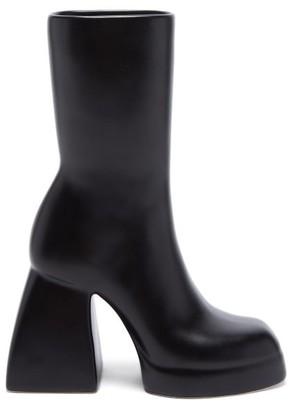 Anissa Kermiche X Nodaleto Bulla Corta Earthenware Left Boot Vase - Black