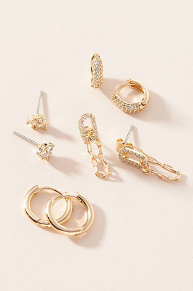 Anthropologie Tallulah Sparkle Earring Set By in Blue