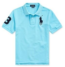Ralph Lauren Polo Boys' Classic Fit Mesh Polo - Big Kid