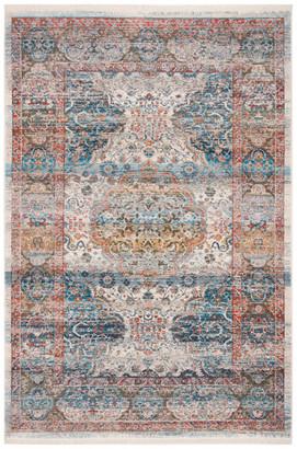 Safavieh Vintage Persian Collection VTP483 Rug, Beige/Blue, 3' X 5'