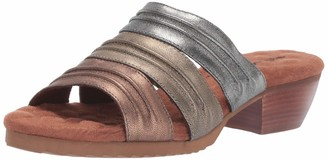 Walking Cradles Womens Colleen Metallic Multi Leather 9 N (A)