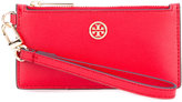 Tory Burch zip up wallet - women - Leather - One Size