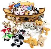 Noah's Ark Plush Toy Set