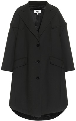MM6 MAISON MARGIELA Stretch-twill coat