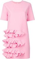 MSGM frill T-shirt dress