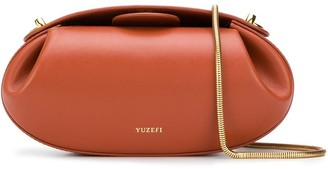 Yuzefi Dinner Roll chain strap crossbody bag