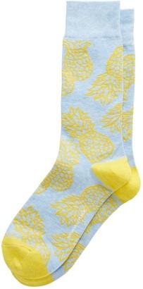 Banana Republic Pineapple Sock