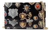 Dolce & Gabbana Dolce E Gabbana Women's Black Leather Shoulder Bag.