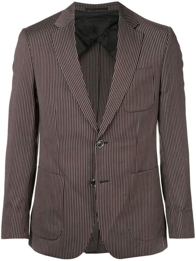 Cerruti striped single-breasted blazer