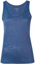 Majestic Filatures round neck tank - women - Linen/Flax - 1