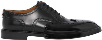 Burberry Toe Cap Detail Leather Oxford Brogues