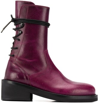 Ann Demeulemeester Berlin 55mm lace-up ankle boots