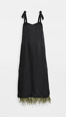 Toga Pulla Feather Dress