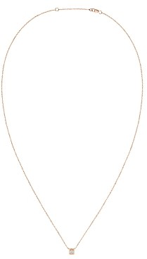 Dinh Van 18K Rose Gold Le Cube Diamant Medium Chain Necklace with Diamond, 17.7