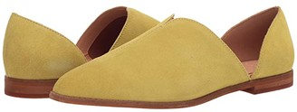 Frye Fenn D'Orsay (Pale Jade Suede) Women's Shoes