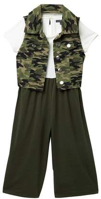 My Michelle mymichelle Camo Jumpsuit Set (Big Girls)