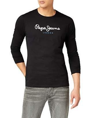 Pepe Jeans Men's Eggo Long T-Shirt, Grey (), Small