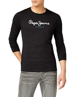 Pepe Jeans Men's Eggo Long T-Shirt, Grey ()