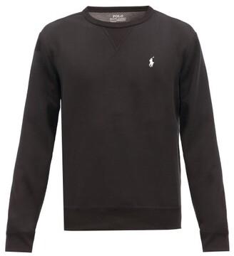 Polo Ralph Lauren Logo-embroidered Technical Sweatshirt - Black