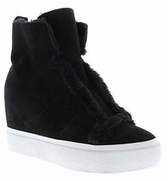 Very Volatile Women's FURRYBA Sneaker Black 7.5 Medium US