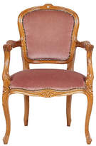 One Kings Lane Vintage Vintage Louis XV Walnut Armchair