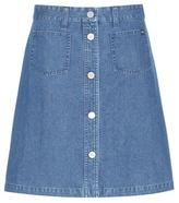Wood Wood Denim Miniskirt