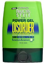 Garnier Fructis Style Disorder Power Gel, 24H Ultra Strong Hold 9.0fl oz