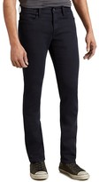 John Varvatos Bowery Slim Straight Fit Jeans in Eclipse