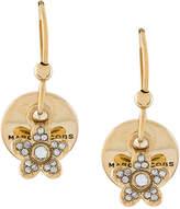 Marc Jacobs MJ coin earrings