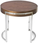 Pangea Home Leah Round Side Table