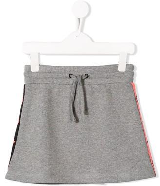 Marcelo Burlon County Of Milan Kids Logo Stripe Skirt