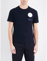 Joseph Badge Cotton-jersey T-shirt