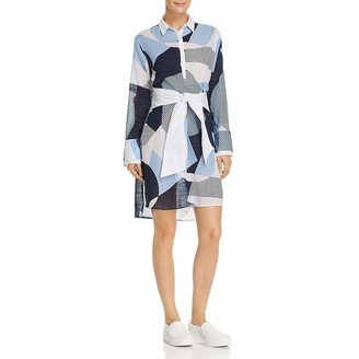 Kenneth Cole Women's Oversized Button Down