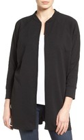 Bobeau Women's Textured Knit Jacket