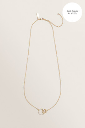Seed Heritage Fine Double Linked Necklace