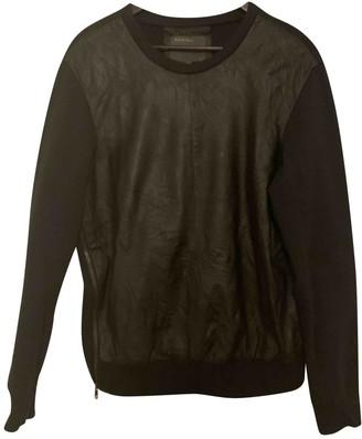 Muu Baa Muubaa Black Leather Knitwear for Women