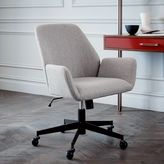 west elm Aluna Upholstered Office Chair