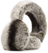 Surell Rabbit Fur Earmuffs, Chinchilla